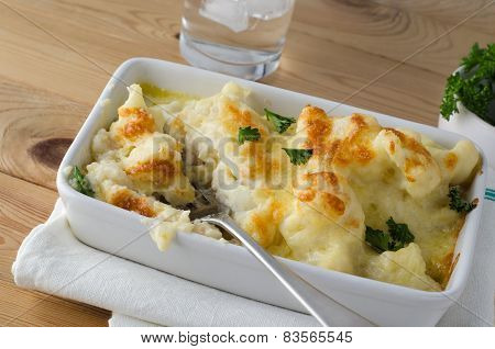 Cauliflower Cheese - Meal In Progress