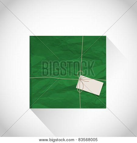 Green parcel box