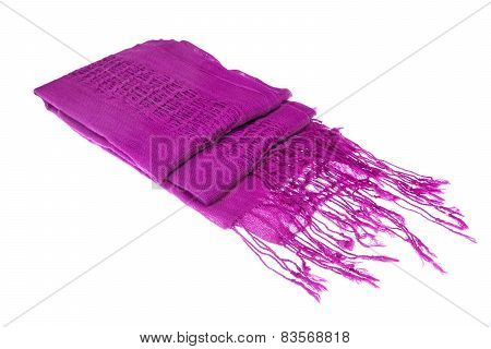 Magenta Female Knitted Scarf