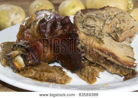 Baked Piglet