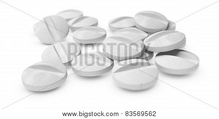 White Tablets Or Pills