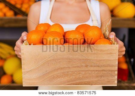 The Freshest Tangerines.