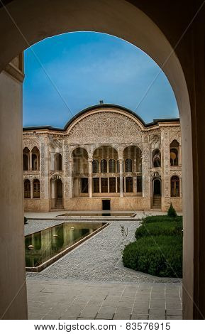 Traditional Iran palace