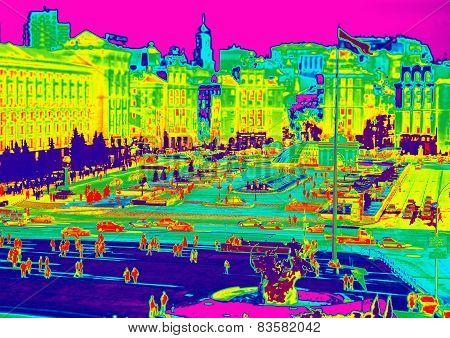 Infrared of Kiev