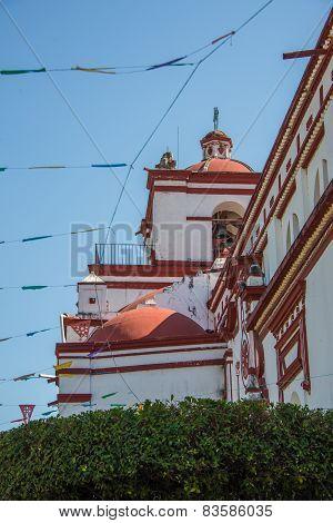 Local Chapel At Chapa De Corzo, Chiapas, Traveling Mexico.