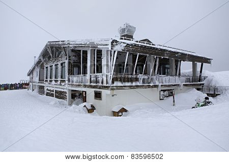Restaurant Altitude 2320 meters