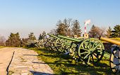 pic of exposition  - Exposition of cannons at Belgrade Fortress  - JPG
