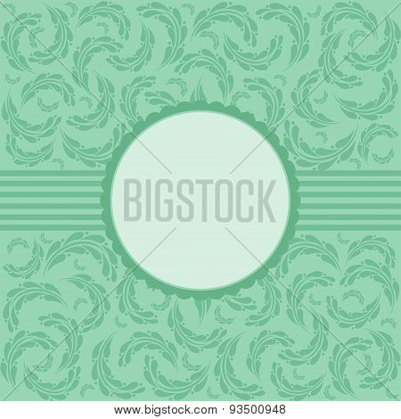 Vector Elegant Vintage Background.