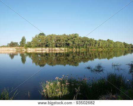 Desna River In Ukraine