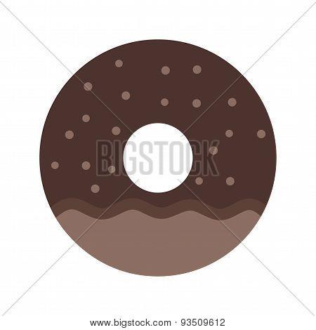 Doughnut sprinkled