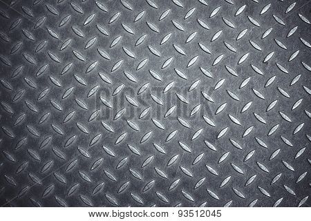 Cross Hatch Metal Anti-skid Pattern