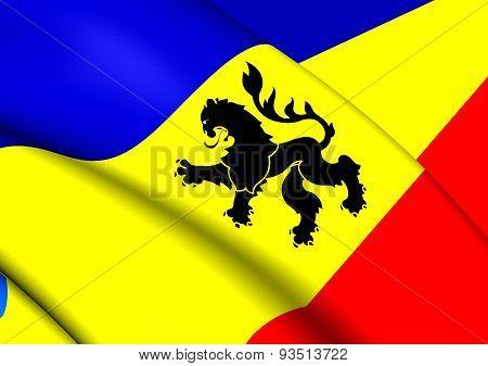 Flag Of Lo Prado, Chile.