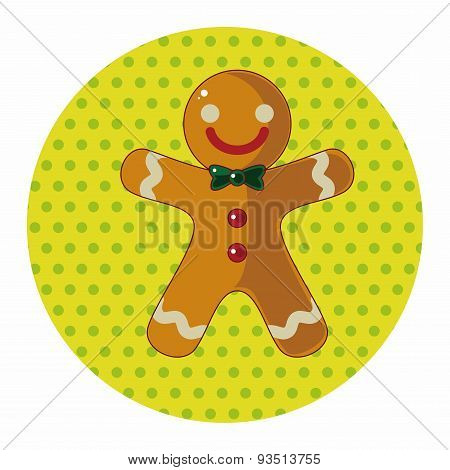 Gingerbread Man Theme Elements