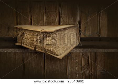 Old Books. Clipping Path