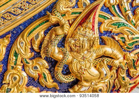 Thai Pattern on a Thai Royal Barge