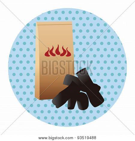 Bbq Charcoal Theme Elements