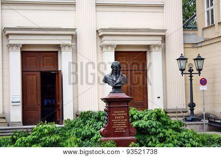 Maxim Gorki Theater On March In Berlin