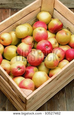 Apples In A Box.