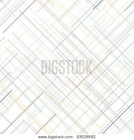Pale seamless pattern. Diagonal random lines. Delicate colors. Endless repetition.