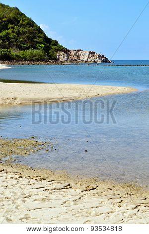 Asia In Thailand Kho Phangan Bay Isle White  Beach