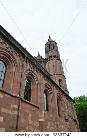 Cathedral Saint Peter In Worms, Germany