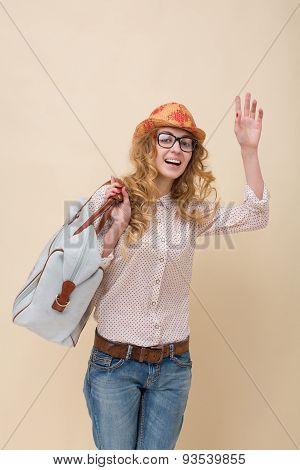 Fashionable traveller