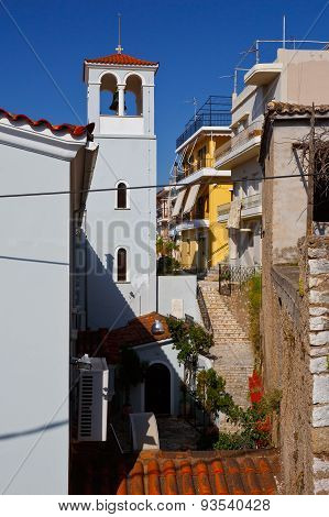 Nafpaktos village.