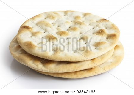 Plain water biscuits.