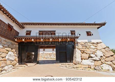 Kuroganegomon Gate Of Imabari Castle, Shikoku, Japan