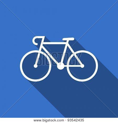 bicycle flat icon bike sign