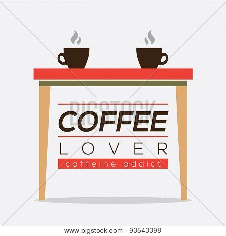 Coffee Lover Caffeine Addice.