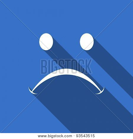 cry flat icon