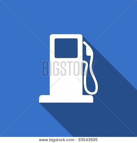 petrol flat icon gas station sign