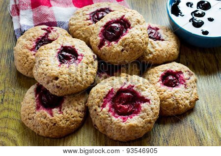 Cookies With Cherries