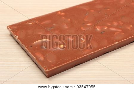 Whole Nutritious Chocolate With Nuts And Raisins