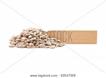 Sunflower Seeds At Plate