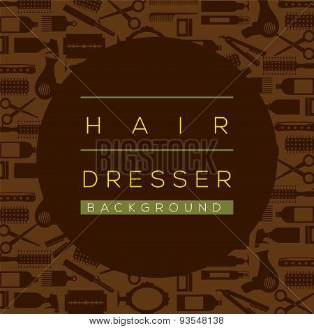 Hair Dresser Background.