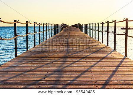 Pontoon in Sharm