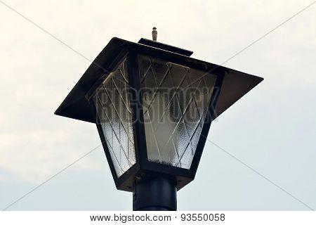 Lamp post Light head