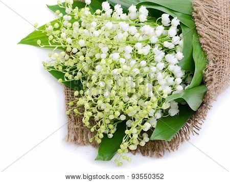 Lilies Of The Valley On Sacking