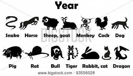 Symbol Of Year Animals