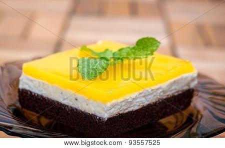 Orange Juice Jello Cake