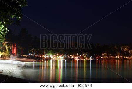 Chaweng Beach bei Nacht 01