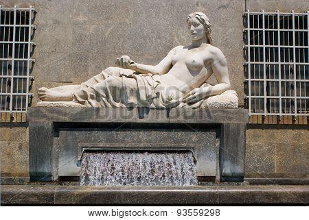 The Fountain Of Dora River, Turin