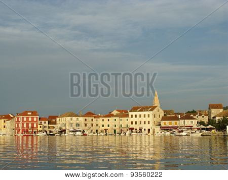 Croatian Stari Grad in the Mediterranean
