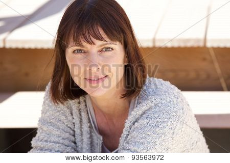 Attractive Older Caucasian Woman