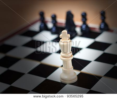 King on the chessboard
