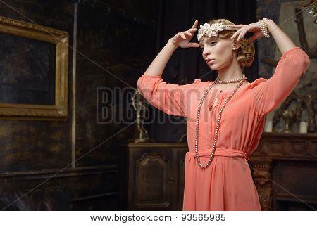 Actress on the scene