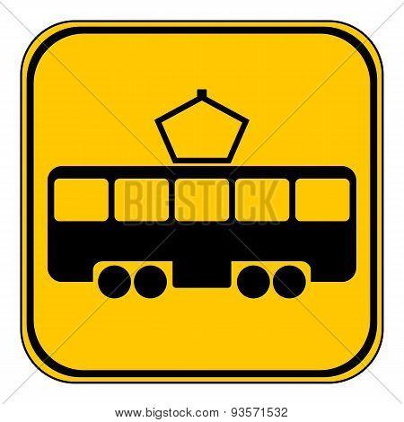 Tram Button.