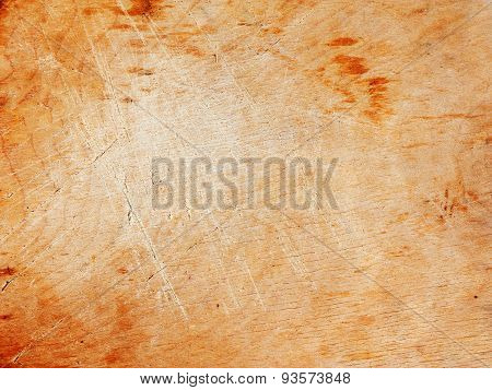 Beige board with scratches